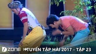 """Hài mới 2017 I Tập 23: Thần """"kinh"""" Hoài Linh chuyên làm khó Trường Giang"""