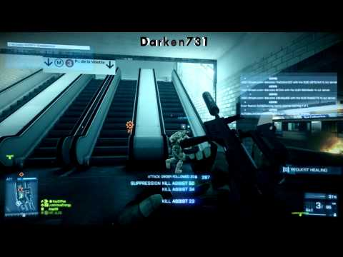 BATTLEFIELD 3 - Back to Karkand Expansion Pack News - Operation Metro - Rush