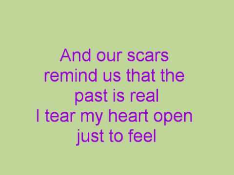 Scars By Papa Roach With Lyrics video
