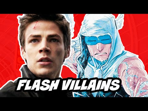 The Flash 2014 VILLAINS - Captain Cold Wentworth Miller Breakdown