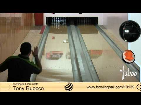 Hammer Taboo Jet Black Bowling Ball Reaction Video by bowlingball.com