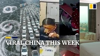 Viral China this week: Abused to tears, toll booth worker still puts on smile and more