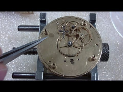 How I put together a pocket watch, Elgin National Watch Co.