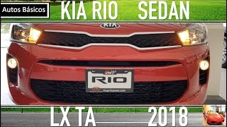 Kia Rio Sedán 2018 Básico