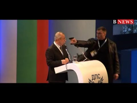 Assassination attempt against Bulgarian politician Ahmed Dogan