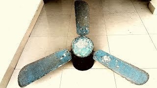 Restoration antique Russian technology ceiling fan
