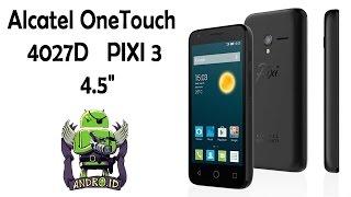 """Смартфон за  3300р Alcatel One Touch PIXI3 4,5"""" 4027D"""