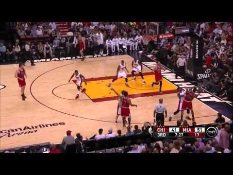Chicago Bulls vs Miami Heat   Highlights   April 9, 2015   NBA Season 2014/15