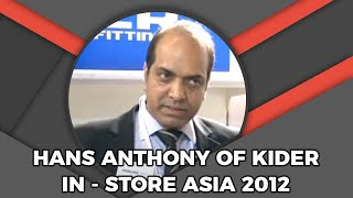 Hans Anthony of Kider   In-Store Asia