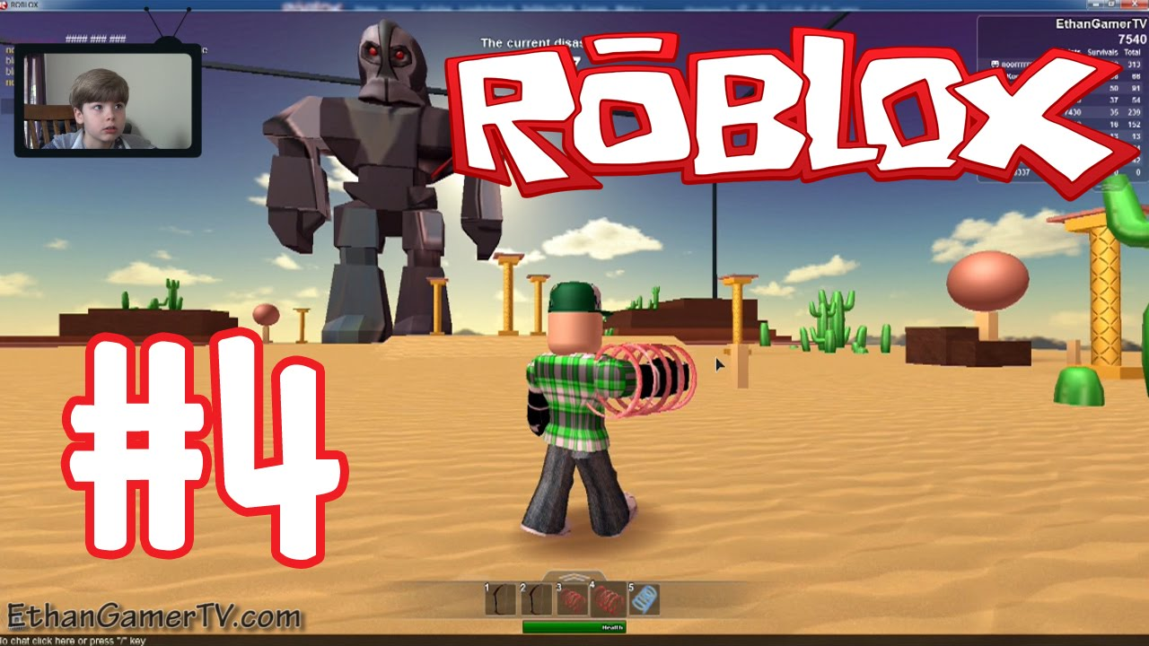 Playing Roblox: Survive The Disasters (Part 4) (KID GAMING ...