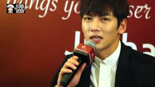 Funny moments of Ji Chang Wook 지창욱 in Singapore - Shokubutsu press con + fan meet
