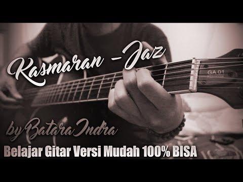 Tutorial Gitar Jaz Kasmaran Versi Original Chord Asli 100% BISA