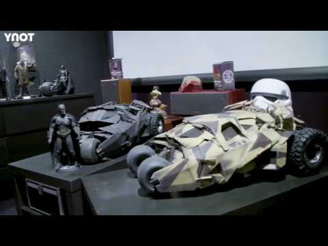 RVB Shows Off His Huge Marvel, DC Comics, Star Wars and Disney Collection