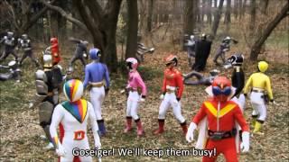 Goseiger Gokaiger Super Sentai 199 Great Battle   Legend War