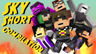 Minecraft Animated Short : FANIMATION COMPILATION! (Funny Moments!)