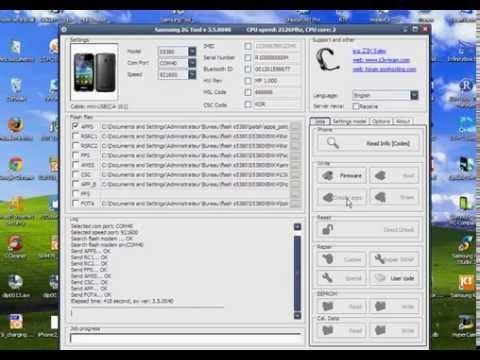 Unlock Samsung S5380 with Z3X