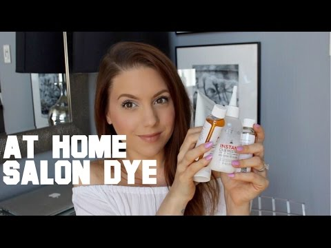TESTED FOR YOU: Salon Hair Dye at Home | MELSOLDERA
