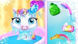 Fun New Born Pony Care Kids Game - My Baby Unicorn - Cute Pet Care