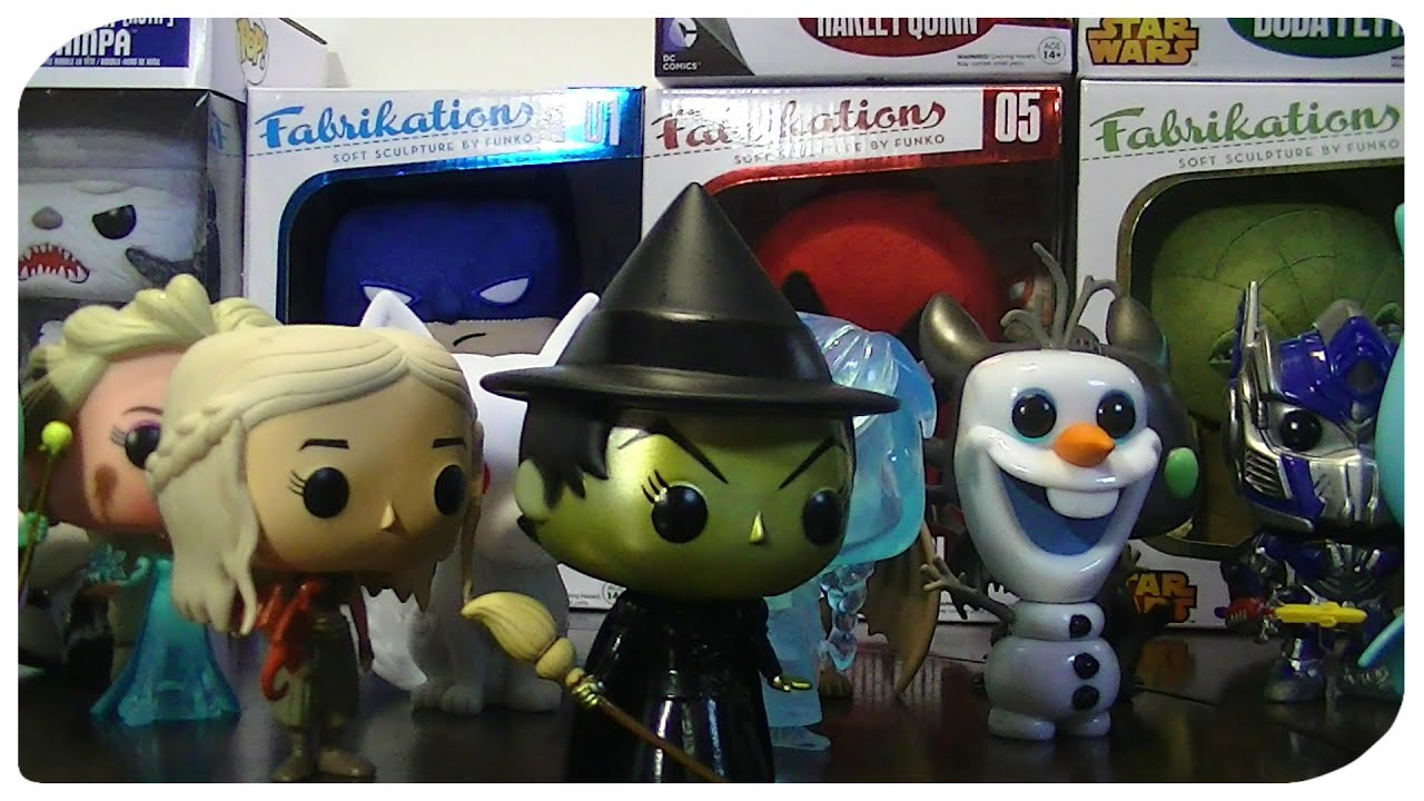 Funko Pop Collection Funko Fabrikations Collection Mystery
