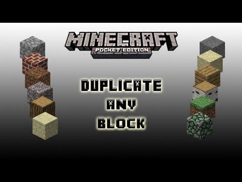 Diamonds Minecraft PE Duplication Glitch
