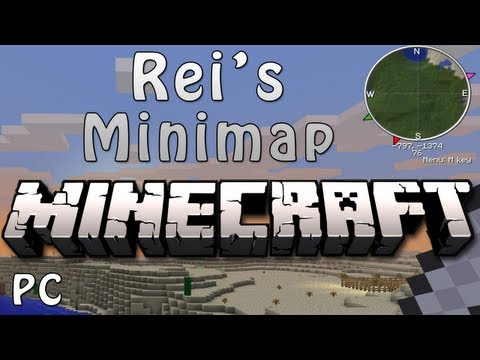 Minecraft 1.6.2 - How To Install Rei's Minimap (PC) HD