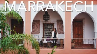 EXPLORING MARRAKECH | Travel Vlog + Riad Tour