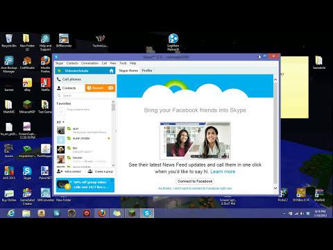 How to Setup Skype and Create a New Skype Account 2014