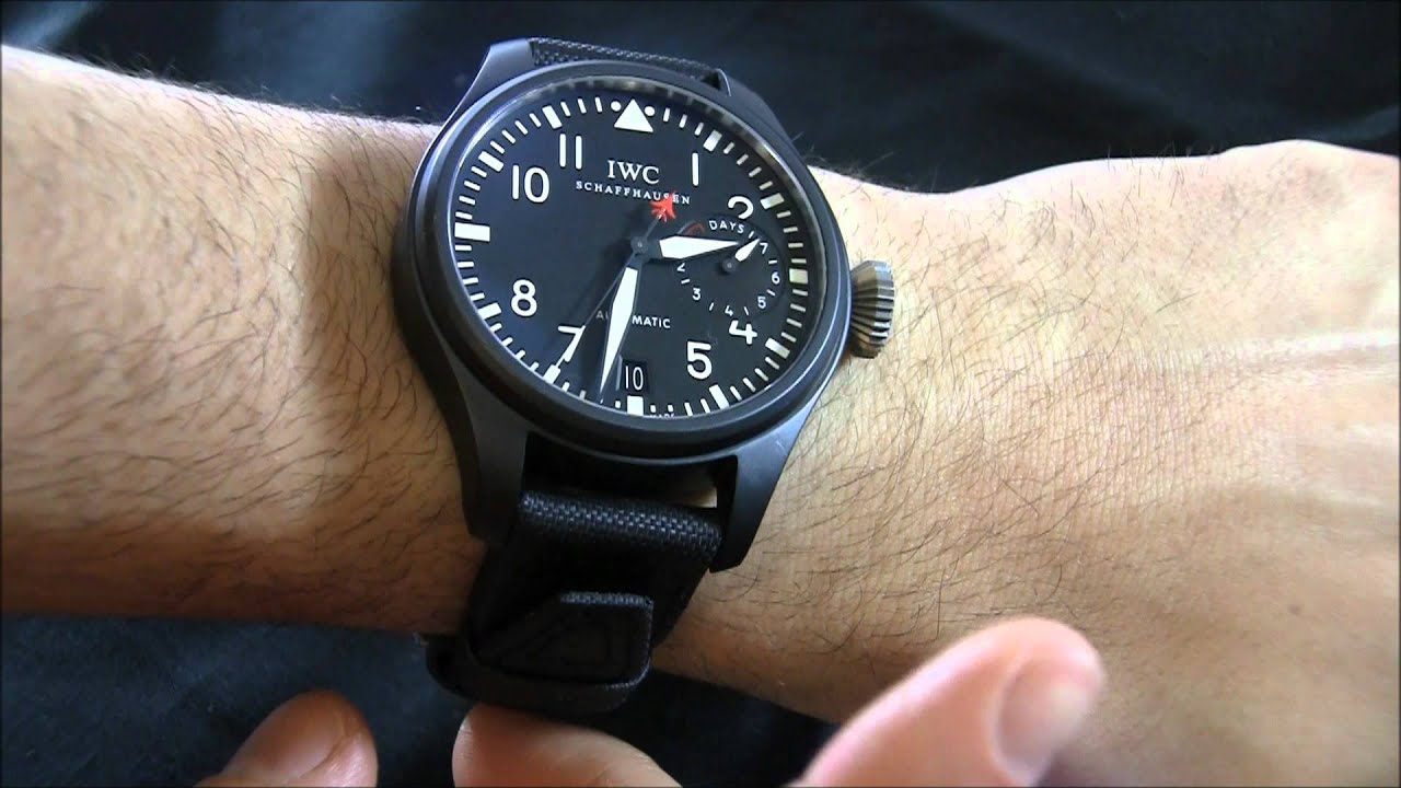 Iwc Top Gun Big Pilot Watch Review Youtube