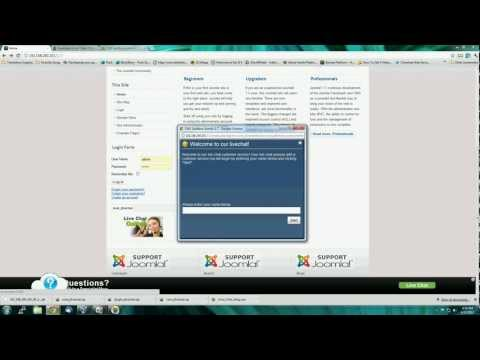 How to install JLive! Chat LiveChat Software on your Joomla Website