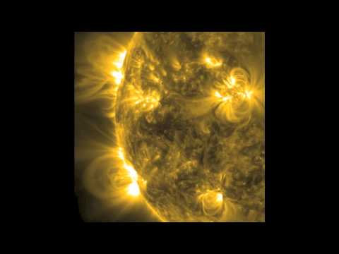 NASA SDO - Proliferating Loops, Oct 14-17, 2012