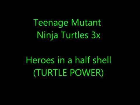 Teenage Mutant Ninja Turtles 2012 theme song lyrics