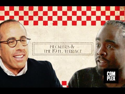 Jerry Seinfeld and Wale Discuss Hecklers