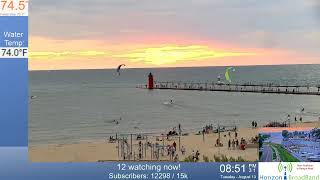 Beautiful Sunset South Haven Live 8.13.2019