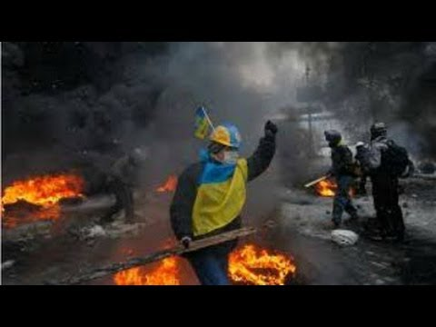Ukraine Forces Clash with Pro-Russian Separatists: 3 Killed Several Injured (4/17/2014)