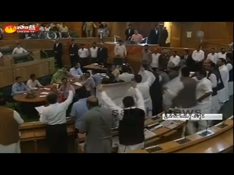 Handwara Firing Issue Shakes Jammu Kashmir Assembly Session