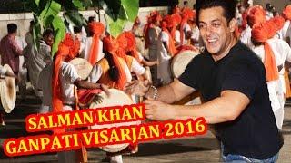 Salman Khans Ganesh Visarjan 2016 FULL COVERAGE