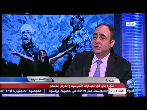 تحليل د. منذر اقبيق للثورة السورية في ظل المبادرات السياسية والصراع المسلح