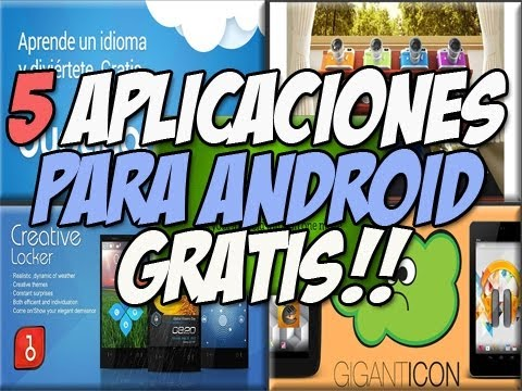5 aplicaciones para android de LUJO | Iconos Gigantes - Happy Tech android