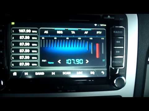 Pumpkin Android headunit (car stereo) full review. Volkswagen version.