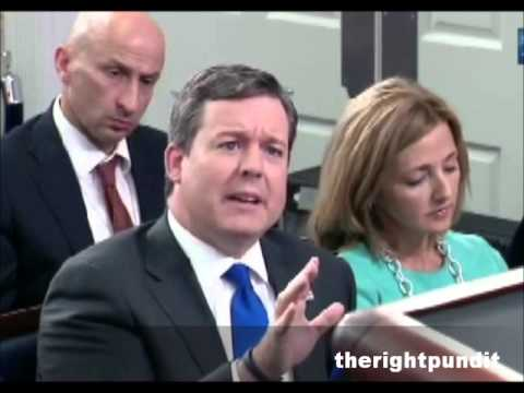 Ed Henry Grills Josh Earnest ISIS Advance