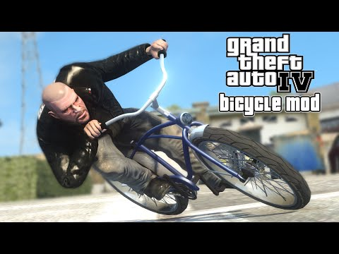 GTA IV - Bicycle Mod (Short Film) klip izle