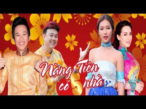 Hài Tết 2018 | Nàng Tiên Có 5 Nhà Full | Phim Hài Tết Mới Nhất 2018 - Hoài Linh, Chí Tài, Phi Nhung | hài tết 2018