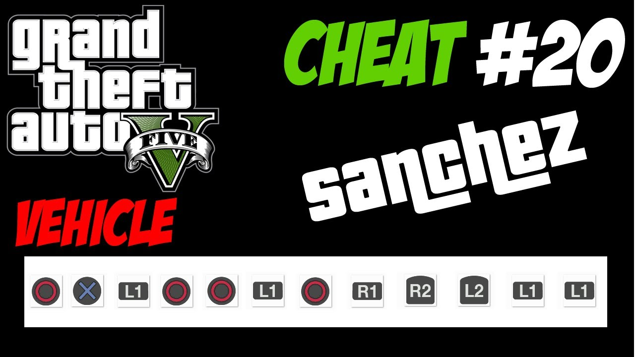 GTA 5 Trucchi #20 - MOTO DA CROSS SANCHEZ [PS3 Xbox 360 HD ...