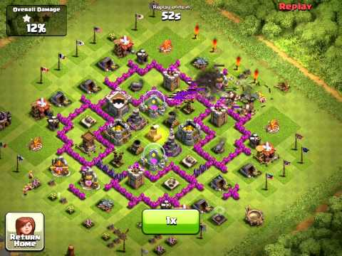 Clash Of Clans Farming Strategy TEST (Town Hall Level 5) | How To Make