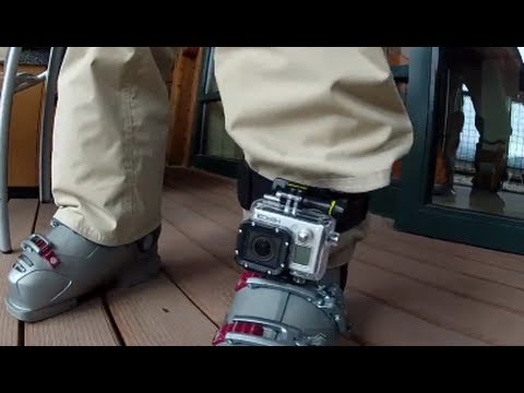 Tip #84 GoPro - Headstrap mount on leg