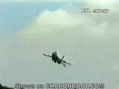 Ukraine Plane Crashes Into Crowd