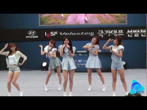 [FANCAM] 110917 Seoul Land Celebration - Girl's Day 'Hug Me Once' & 'Twinkle Twinkle' by ExE