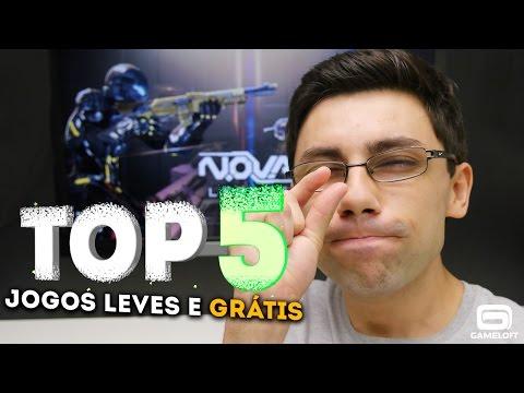 TOP 5 - JOGOS LEVES E GRÁTIS PARA ANDROID Parte 2