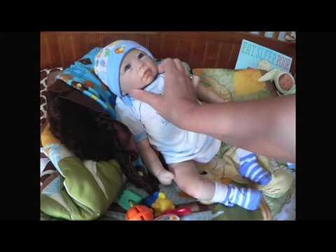 Ashton Drake Sweet Baby Liam OOTD and Feeding Plus Mini Haul