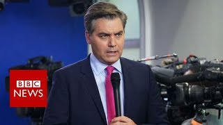 White House suspends credentials for CNN's Jim Acosta - BBC News